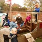 Felixstowe Nursery School outdoor Gallery 20