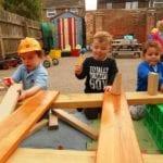 Felixstowe Nursery School outdoor Gallery 14